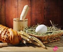 Фотопечать на рулонных шторах – еда и продукты_2